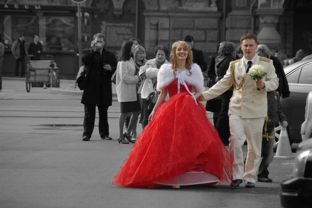 Mariage, Russie