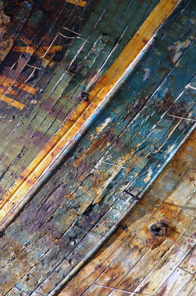 Des épaves devenues tableaux