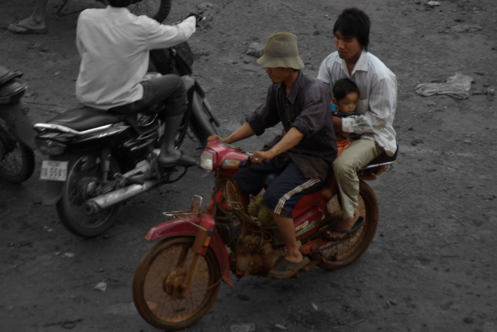 """Transport en commun"", Cambodge"