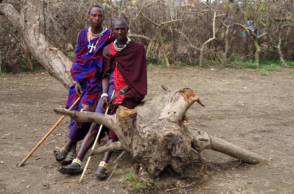 Fier comme des guerriers Masaï