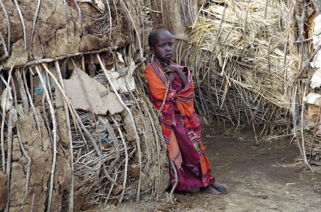 Au coeur du village Masaï