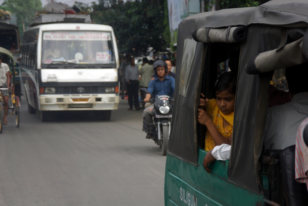 En direction de Darjeeling