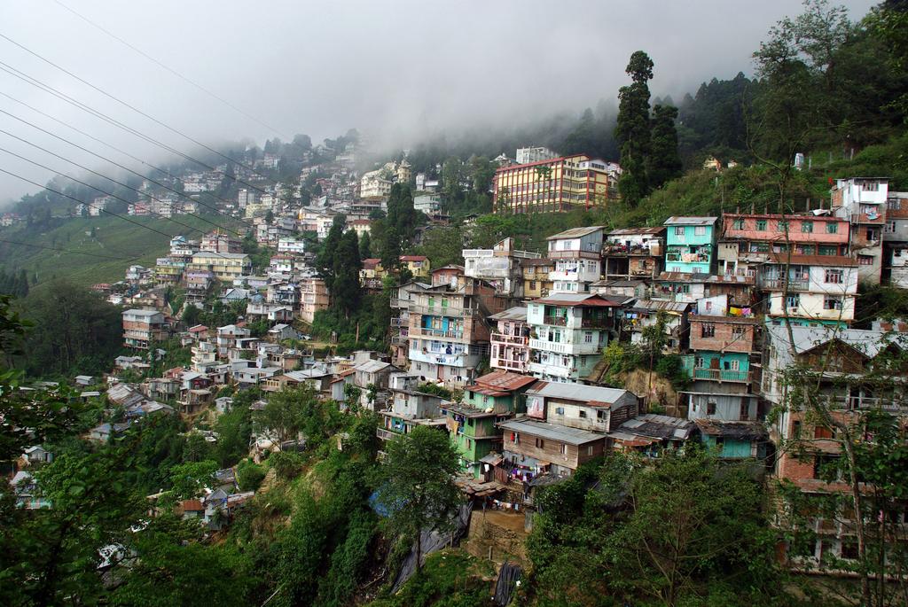 Vue sur Darjeeling