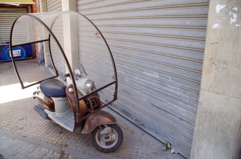 Les scooters de ce type sont très à la mode !