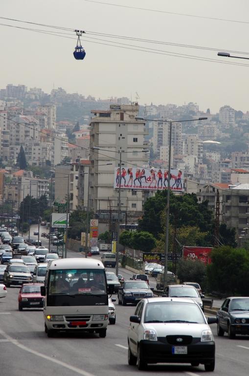 Le traffic routier est dense, où que l'on soit