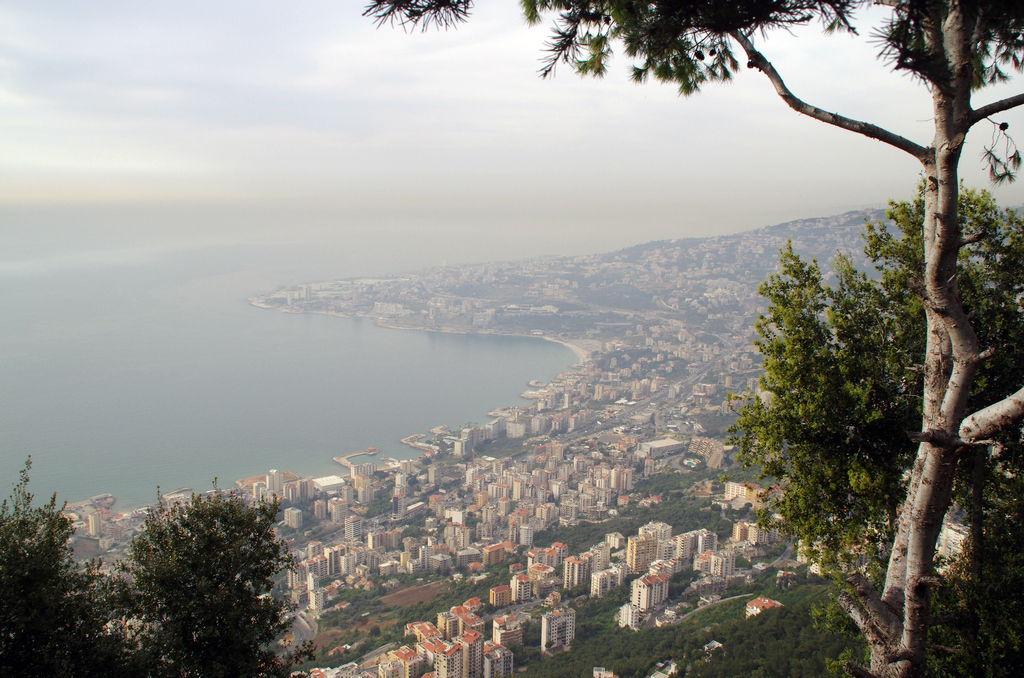 Au Liban, la côte est particulièrement construite