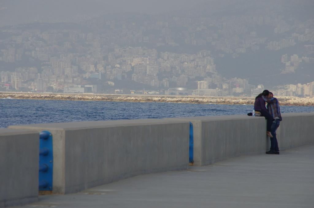 Fin d'après midi à Beyrouth
