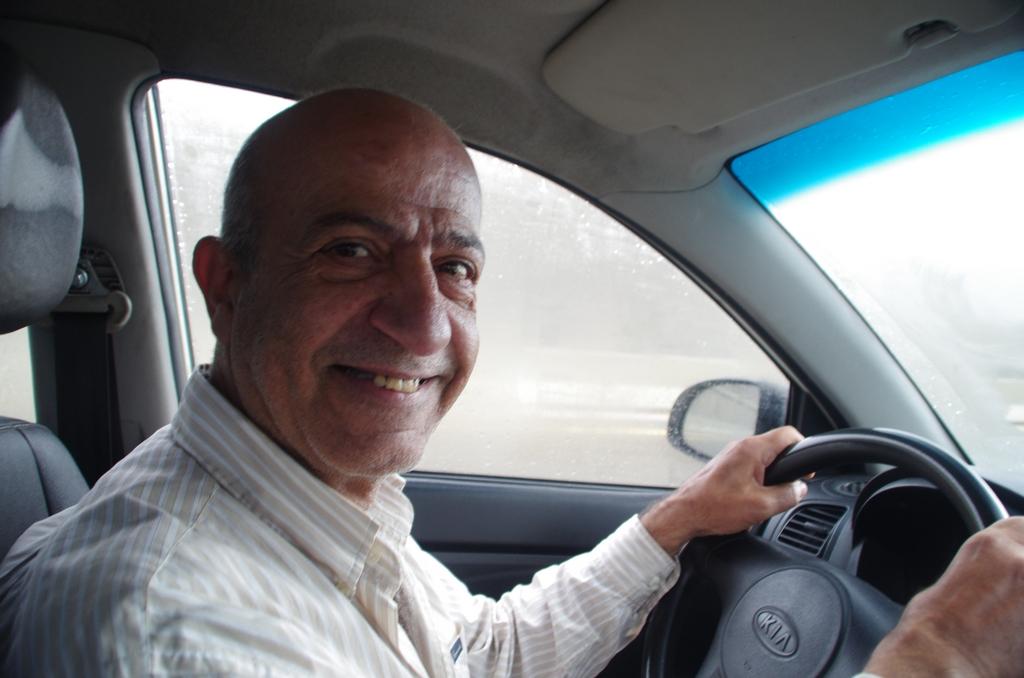 Elie, chauffeur de taxi à Beyrouth