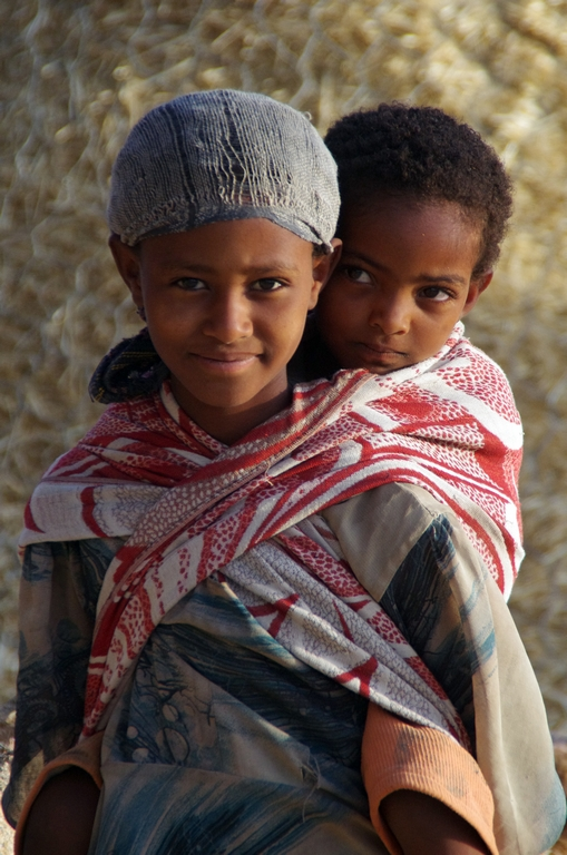 Enfants dans le Tigré