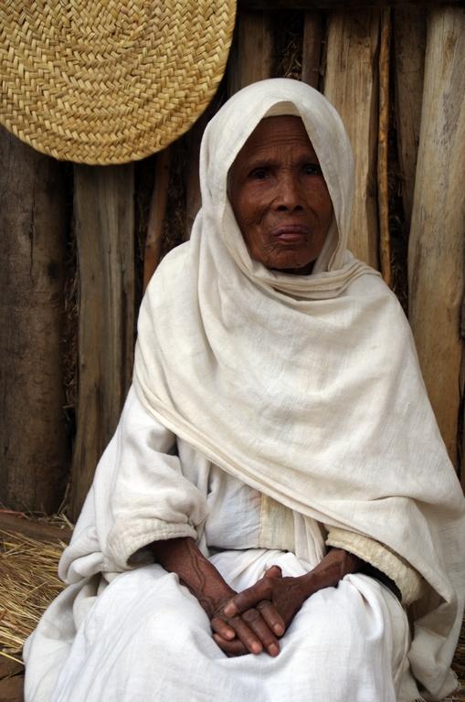 Les personnes âgées chez les Amharas sont relativement nombreuses