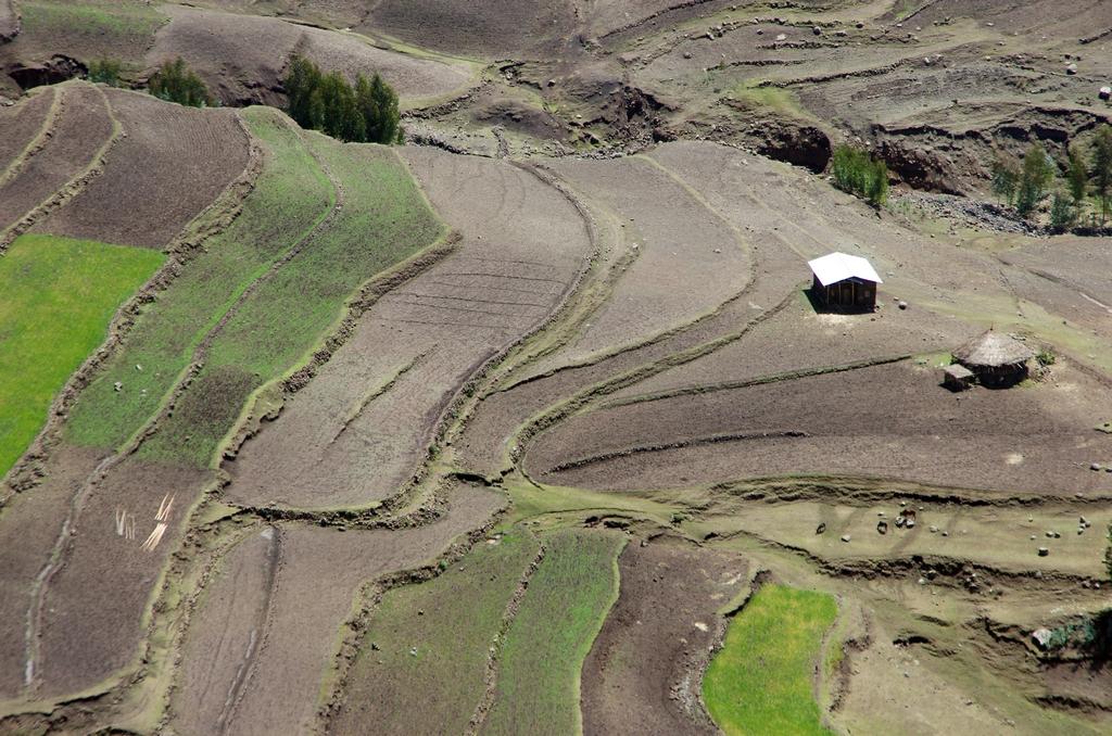 En avril, les paysages attendent les prochaines pluies pour verdir