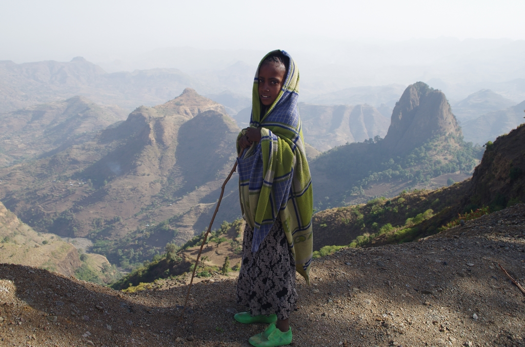 Les paysages du Nord de l'Ethiopie sont majoritairement très escarpés