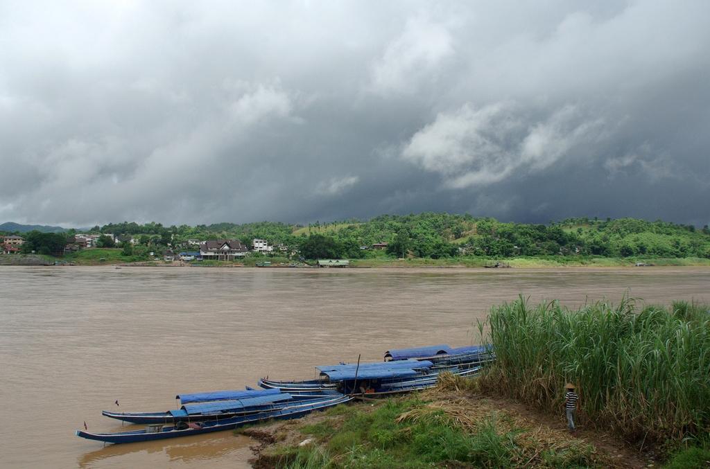 Mékong à Ban Houayxay, Laos