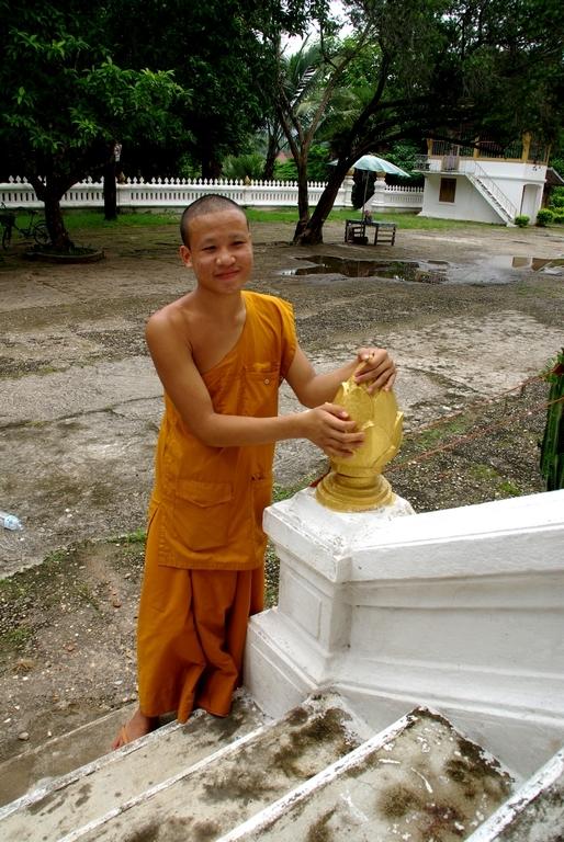 Jeune moine, Laos