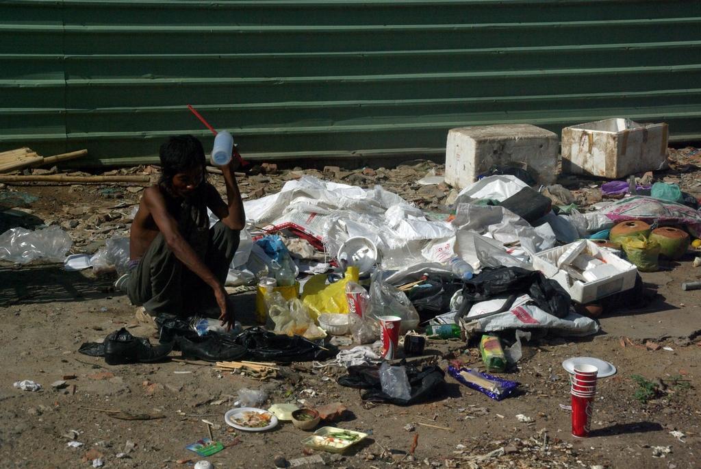 Triste réalité, Phnom Penh, Cambodge