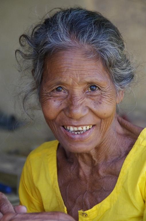 Les habitants du Bangladesh affichent parfois de beaux sourires - Srimangal