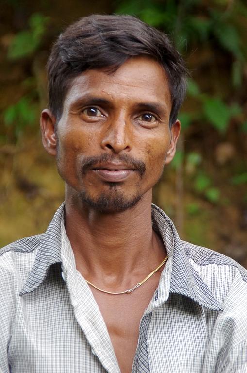 Ouvrier dans les plantations - Srimangal