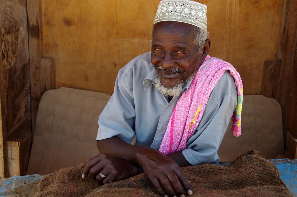 Vendeur de khat - Djibouti