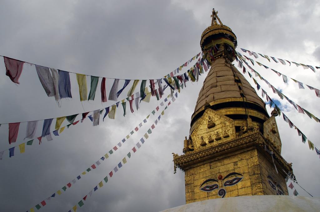 Temple des singes - Vallée de Katmandou