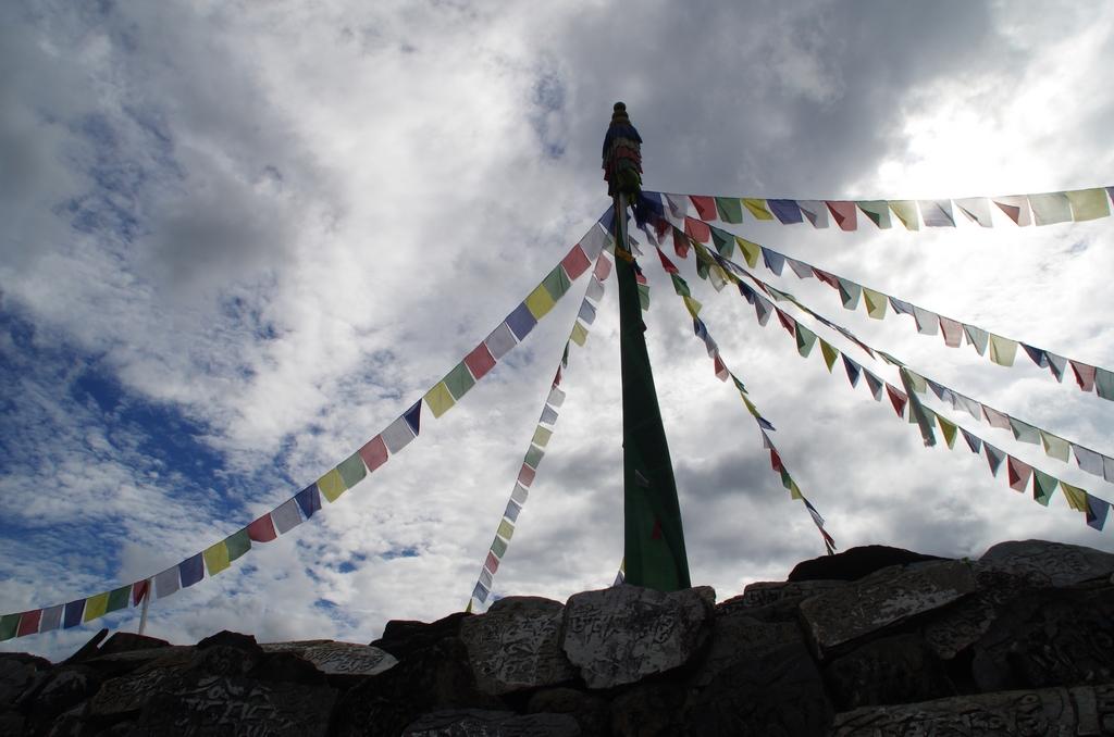 Village de réfugiés tibétains