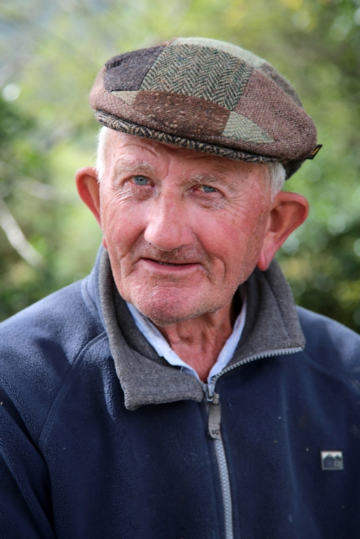 Pêcheur à la retraite - Irlande
