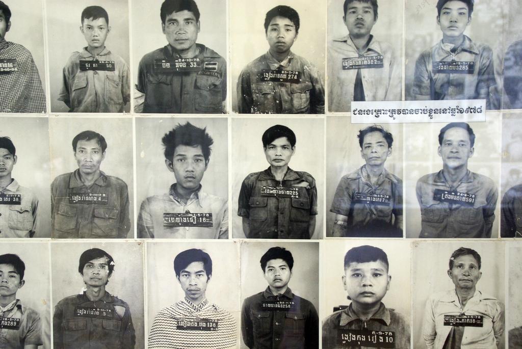 Portraits des condamnés