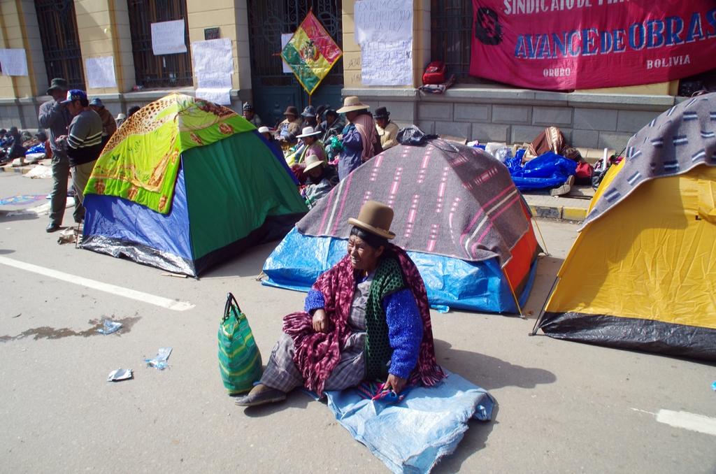 Les boliviens manifestent beaucoup, et ce dans toutes les villes - Bolivie