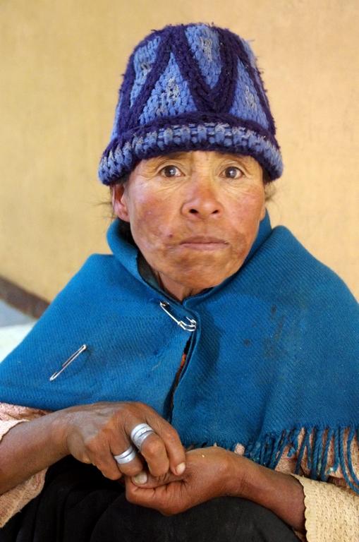 Beaucoup de femmes vivent dans la rue - Orouro, Bolivie