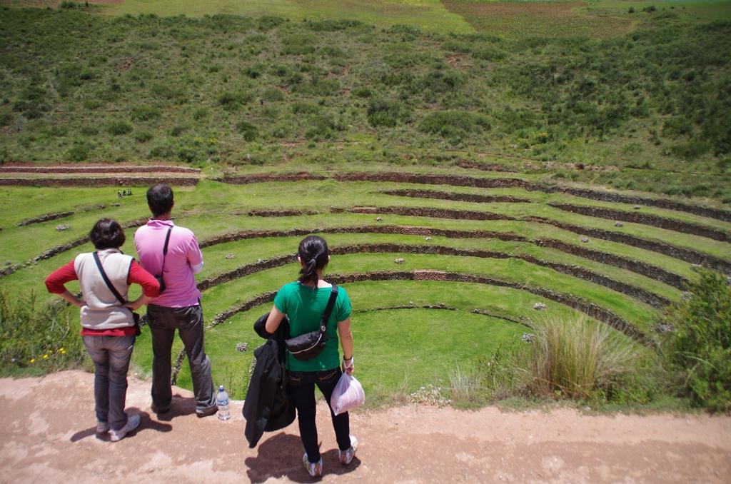 Laboratoire agricole inca de Moray - Pérou