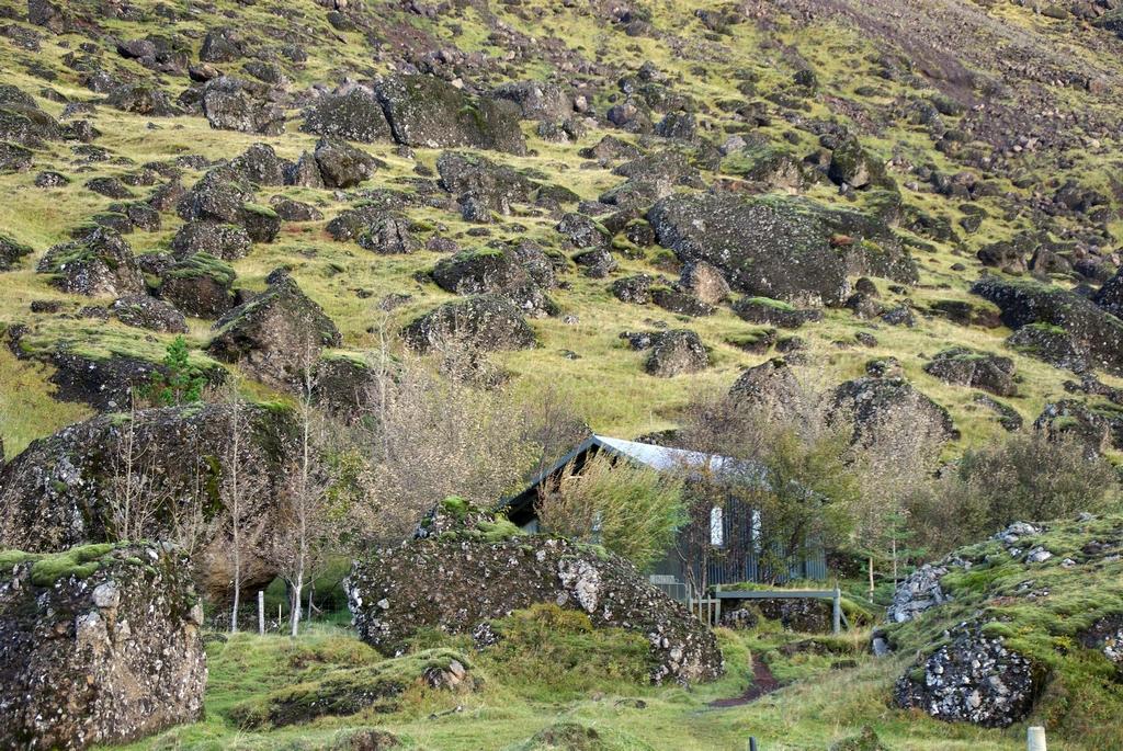 Construite dans un champ de pierres - Islande