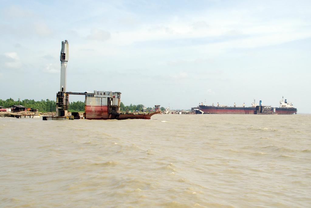 Casse des bateaux de Chittagong - Bangladesh