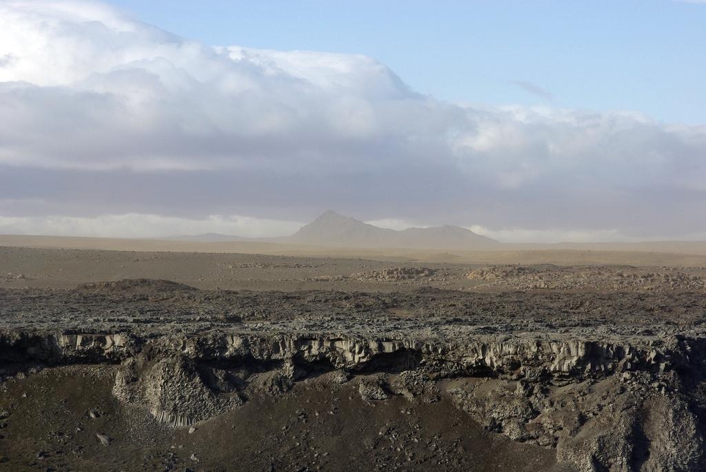 Terre déchirée - Islande