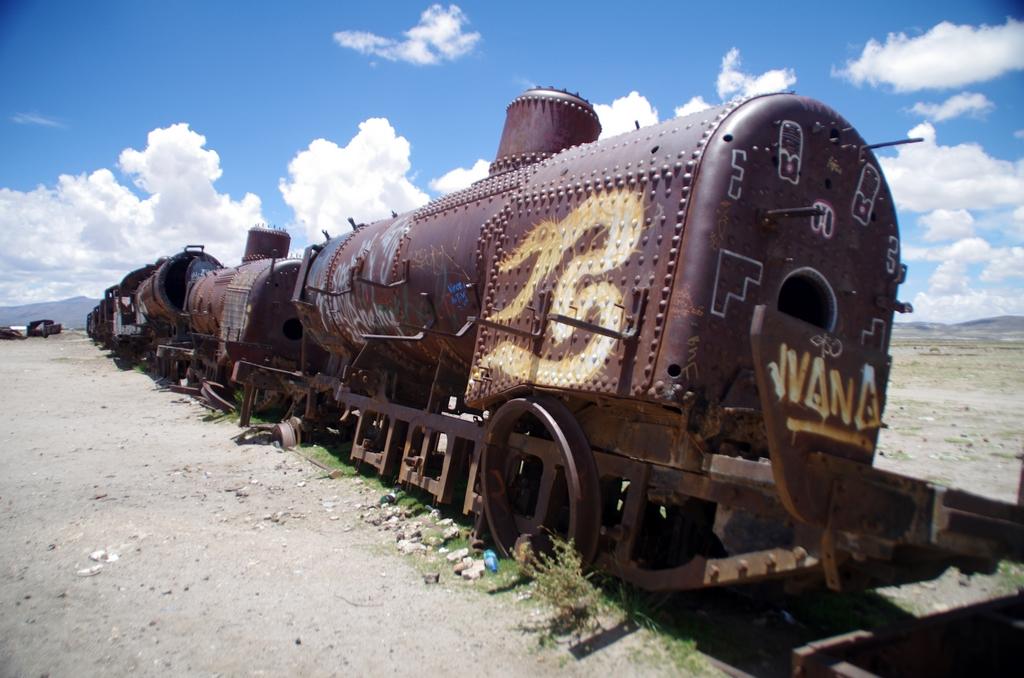 Cimetière de trains - Bolivie
