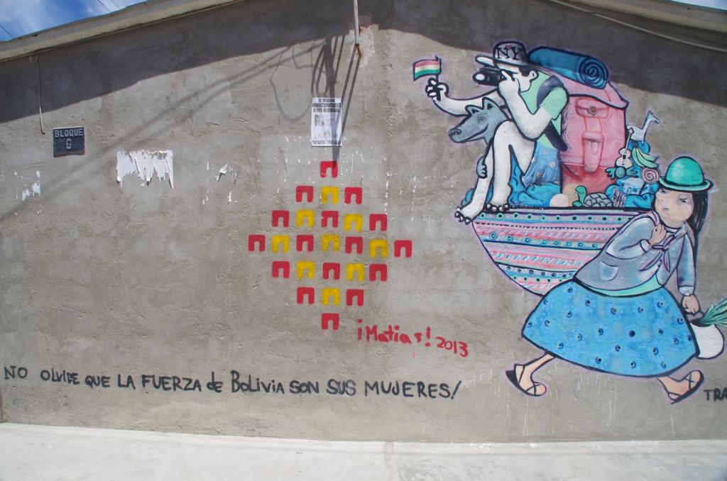 Les femmes portent le monde - Bolivie