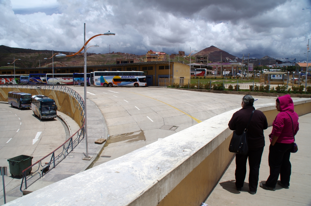 Gare de bus - Bolivie