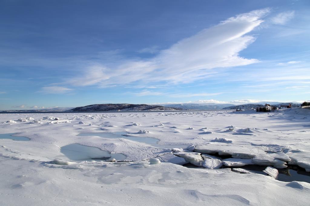 Fjord gelé - Norvège