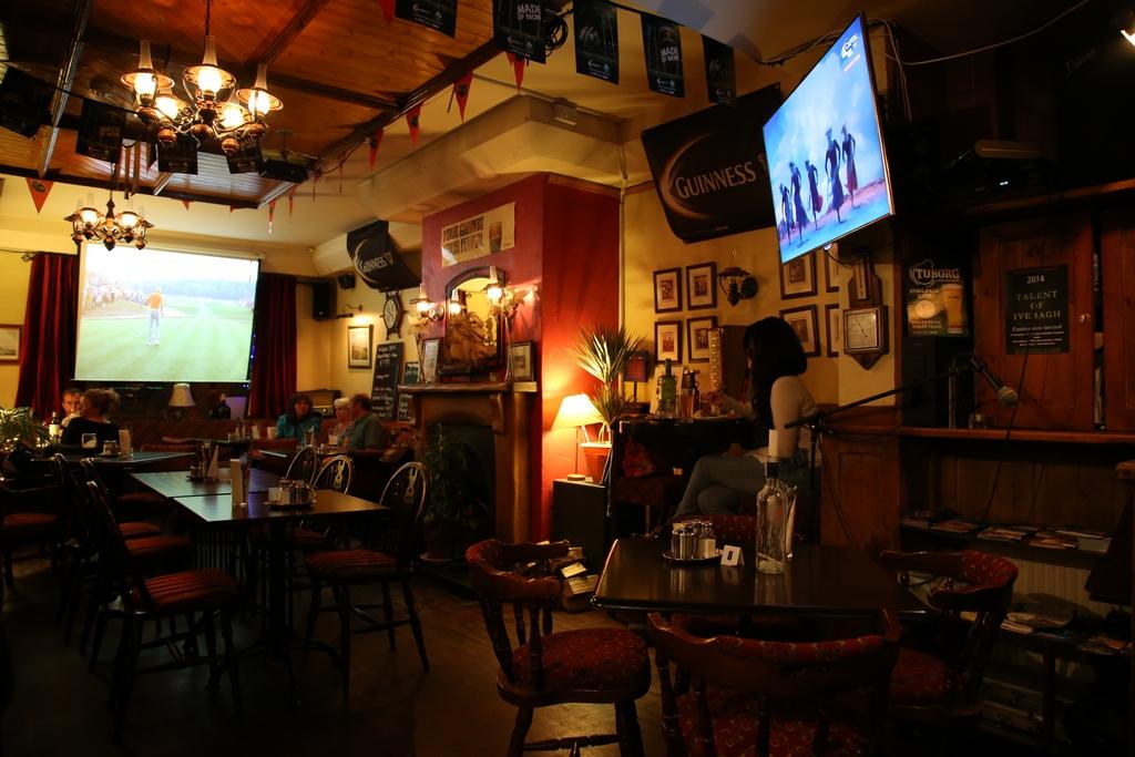 Ambiance de pub - Irlande