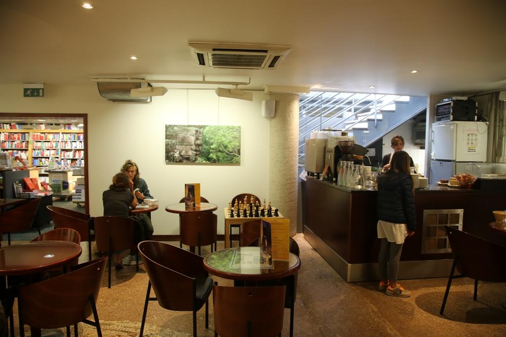 Café de la Librairie Dialogues