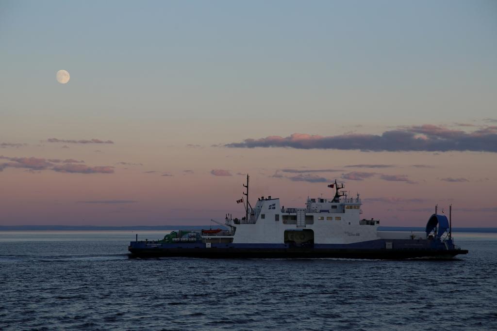 Traversée de la rivière Saguenay - Québec