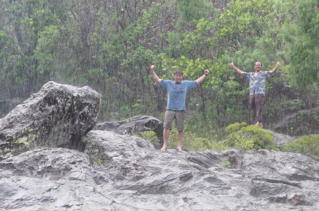En mars, la pluie est digne de la mousson