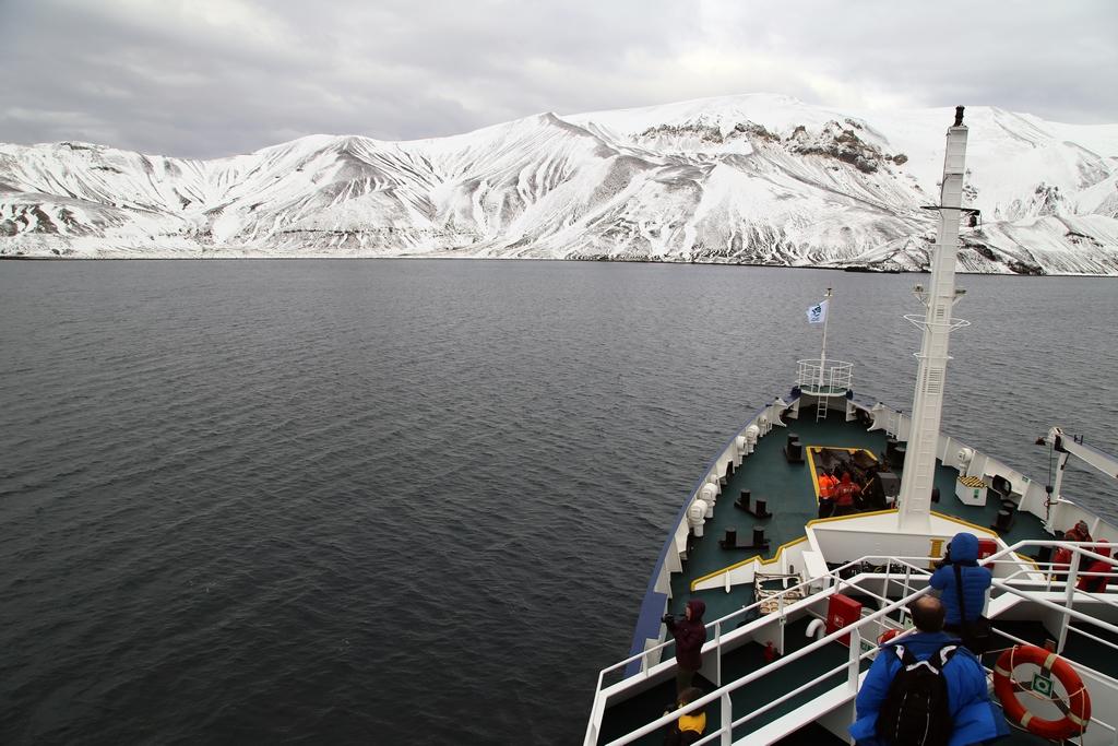 Arrivée dans un monde en noir et blanc, île de la Déception, Shetland