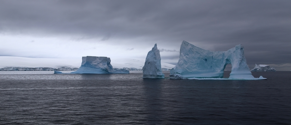 Antarctique – Icebergs