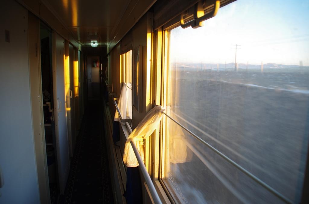 A bord du transmongolien