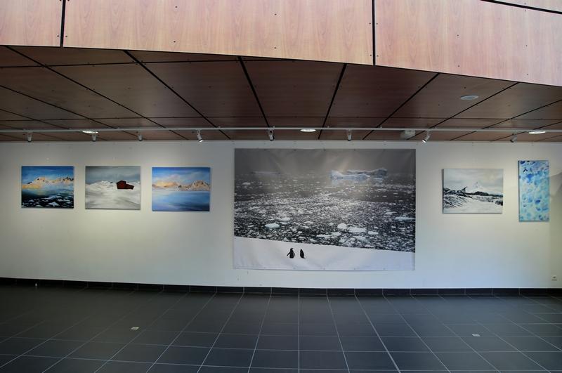 2017 : Espace Keraudy, Plougonvelin / «Antarctique»