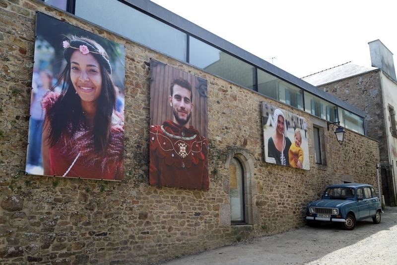 Actuellement: portraits médiévaux, Saint-Renan