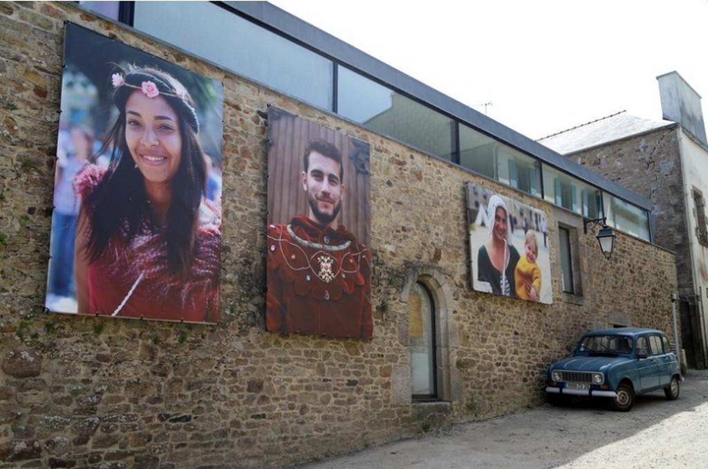2018 – 2020 : portraits médiévaux, Saint-Renan