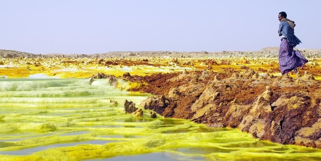 Dallol - Ethiopie