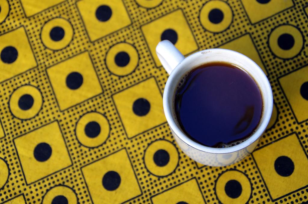 Le café tanzanien est excellent. Par contre, il est fort !