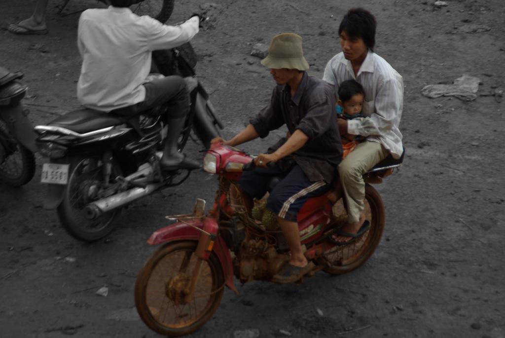 """Transport en commun"", Cambodge"