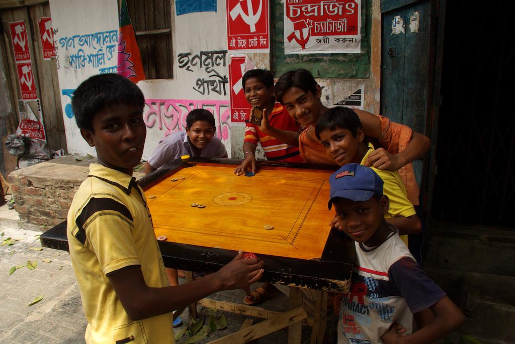 Comment passer en Inde sans une partie de Carrom ? - Calcutta